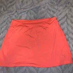 Puma Neon pink skirt